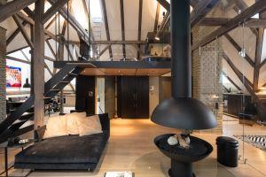 bytový interier, úprava podkroví
