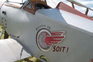 výroba replik letadel Nieuport N17 pro film Rytíři nebes
