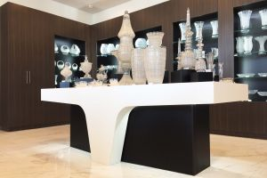 prodejní prostory a zázemí prodejen Royal Crystal  - realizace návrhu MASSIVE 94