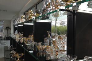 prodejní prostory  Bohemia Crystal